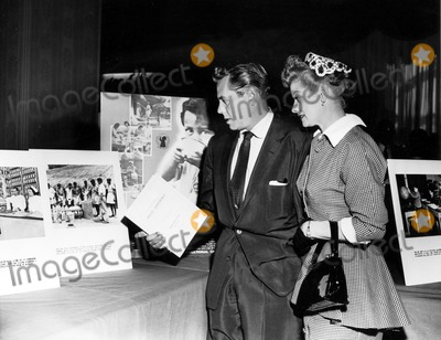 Desi Arnaz Photo - Lucille Ball and Desi Arnaz Attend an United Nations Conference Supplied by SmpGlobe Photos Inc
