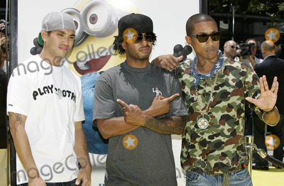 NERD Photo - Nerd (Chad Hugo Shay Pharrell Williams) Despicable ME Premiere at the Nokia Theatre in Los Angeles California 06-27-2010 Photo by Kurt Krieger-allstar-Globe Photos Inc