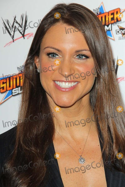 Stephanie McMahon Photo - Stephanie Mcmahon attends First Ever Wwe Summerslam Press Conference on 13th August 2013 at the Beverly Hills Hotelbeverly Hills Causaphoto TleopoldGlobephotos