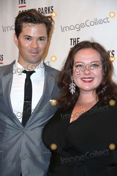 Gordon Parks Photo - Andrew Rannells and Zuzanna Szadkowski Attend the Gordon Parks Foundation Awards Dinner Cipriani Wall Street NYC June 2 2015 Photos by Sonia Moskowitz Globe Photos Inc