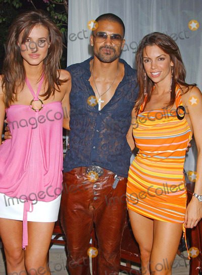 Erin Naas Photo - 2004 Playmate of the Year Party at Sky Bar West Hollywood CA 05062004 Photo by Miranda ShenGlobe Photos Inc 2004 Erin Naas Shemar Moore and Kristen Williams