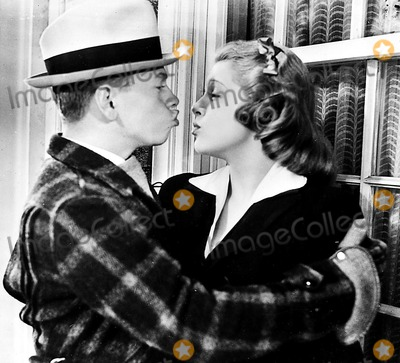 Lana Turner Photo - Mickey Rooney and Lana Turner in a Scene From Love Finds Andy Hardy 1938 Supplied by Globe Photos Inc Mickeyrooneyretro
