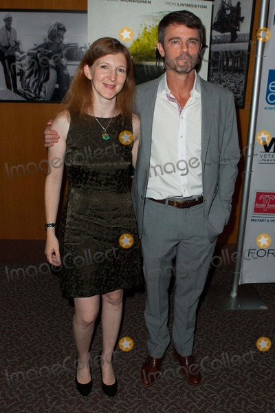 Adam Silver Photo - Adam Silver and Claudia Myers Attend Fort Bliss Los Angeles Screening on September 11th 2014 at the Dga Theater in Los Angelescalifornia Photo tleopoldGlobephotos