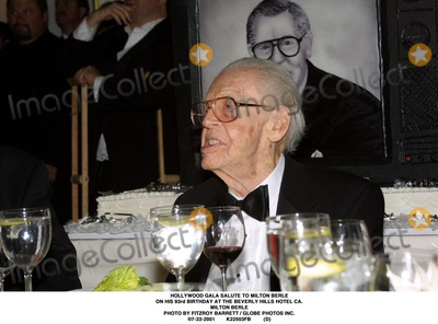 Milton Berle Photo - Hollywood Gala Salute to Milton Berle on His 93rd Birthday at the Beverly Hills Hotel CA Milton Berle Photo by Fitzroy Barrett  Globe Photos Inc 7-22-2001 K22503fb (D)