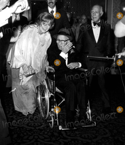 Jimmy Durante Photo - Jimmy Durante and Wife Marge Arrive For His Testimonial at Beverly Hilton Hotel Durante Is Recovering From a Stroke Photo Nate CutlerGlobe Photos Inc