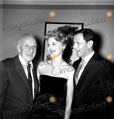 Jimmy Durante Photo - Jimmy Durante Connie Tower and Tony Randall a526-15 Globe Photos Inc Tonyrandallretro