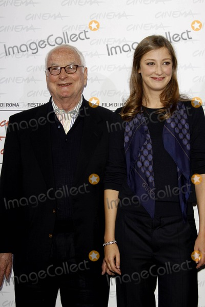 Alexandra Maria Lara Photo - Director James Ivory and actress Alexandra Maria Lara pose to promote the film The City Of Your Final Destination at the 4th Rome International Film Festival at Auditorium Parco della Musica in Rome Italy10-16-2009 Photo Alec Michael-Globe Photos Inc  2009K63432AM
