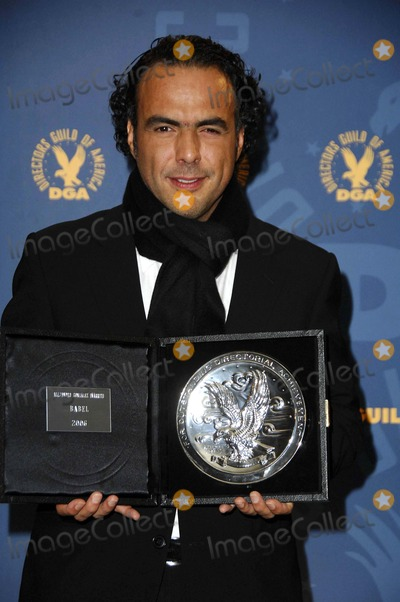 Alejandro Inarritu Photo - Alejandro Gonzalez Inarritu During the 59th Annual Directors Guild of America Awards (Press Room) Held at the Hyatt Regency Century Plaza Hotel on February 3 2007 in Century City Los Angeles Photo by Michael Germana-Globe Photos 2007
