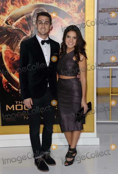 Alexys Gabrielle Photo - Cody Johns Alexys Gabrielle attending the Los Angeles Premiere of the Hunger Games Mockingjay Held at the Nokia Theatre LA Live in Los Angeles California on November 17 2014 Photo by D Long- Globe Photos Inc