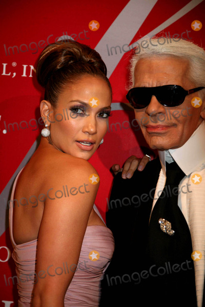 Alchemist Photo - The Fashion Group International Presents the 25th Annual Night of Stars Honoring the Alchemists Cipriani Wall St NYC October 23 08 Photos by Sonia Moskowitz Globe Photos Inc 2008 Jennifer Lopez and Karl Lagerfeld