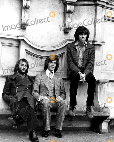 The Bee GEES Photo - The Bee Gees Maurice Robin and Barry Gibb Globe Photos Inc Beegeesretro