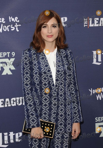 Aya Photo - Aya Cash attending the Los Angeles Premiere of Fxxs the League Final Season and youre the Worst 2nd Season Held at the Regency Bruin Theater in Westwood California on September 8 2015 Photo by D Long- Globe Photos Inc