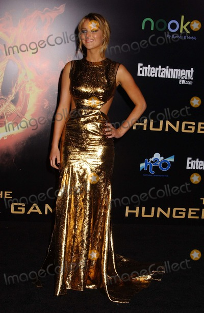 Jennifer Lawrence Photo - Jennifer Lawrence attends the Premiere of the Hunger Gamesat the Nokia Theater in Los Angelesca on March 122012 Photo by Phil Roach-ipol-Globe Photos 2012
