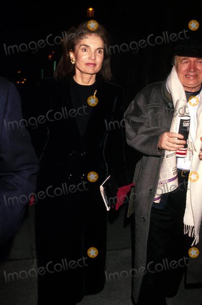 Jacqueline Kennedy Onassis Photo - Jacqueline Kennedy Onassis F9358 1989 Photo by Michael FergusonGlobe Photos Inc Jacquelinekennedyonassisretro