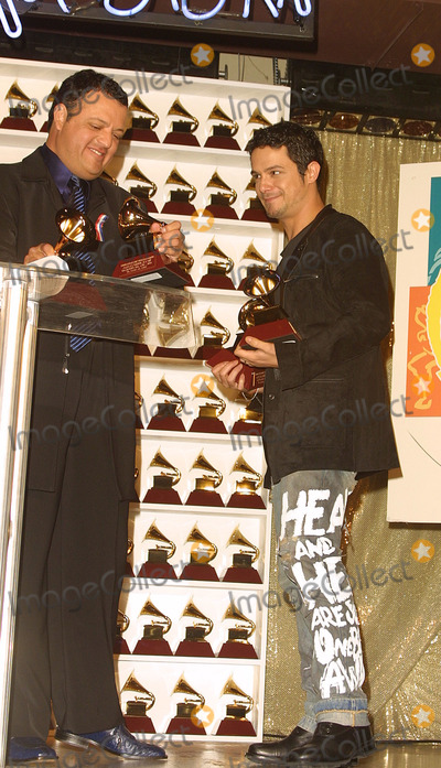 Alexandro Sanz Photo - Paul Rodriguez and Alexandro Sanz (He Won 4 Grammys) 2nd Latin Grammy Awards Conga Room Los Angeles CA October 30 2001 Photo by Nina PrommerGlobe Photos Inc 2001 K23232np (D)