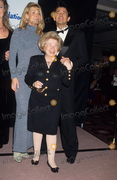 Adrian Zmed Photo - Susan Wood with Adrian Zmed and Ruth Westheimer 1995 Starlight Found Gala Photo by Rose Hartman-Globe Photos Inc