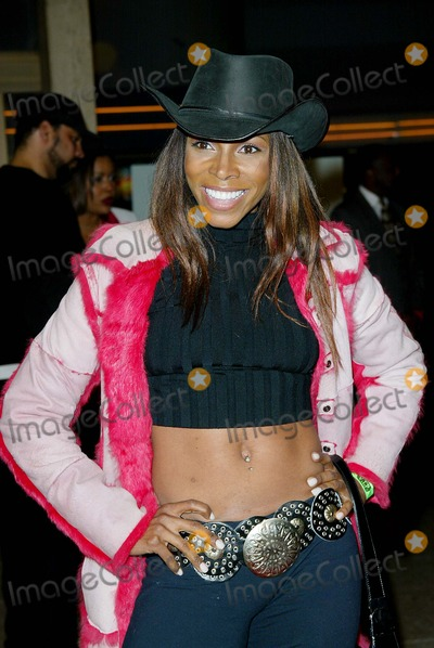 Adrienne - Joi Johnson Photo - Crazy As Hell Premiere at Loews Cineplex Odeon Theater in Los Angeles Aj Johnson (adrienne-joi Johnson) Photo by Fitzroy Barrett  Globe Photos Inc 2-6-2002 K23968fb (D)