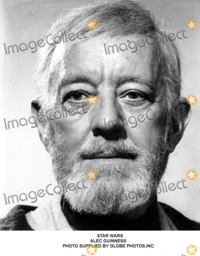 Alec Guinness Photo - Star Wars Alec Guinness Photo Supplied by Globe Photosinc