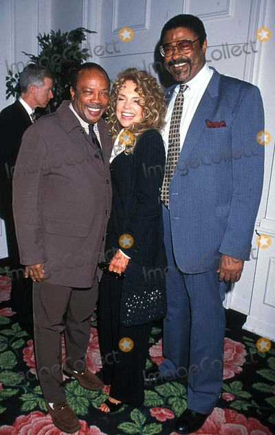 Rosey Grier Photo - Help Awards Beverly Hilton CA Quincy Jones_dyann Cannon_rosey Grier 1997 Photo by Lisa RoseGlobe Photosinc Quincyjonesretro