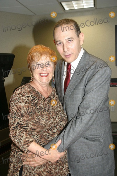 Lynne Marie Stewart Photo - 102806 - Pee Wee Herman (Paul Reubens) and Lynne Marie Stewart (she played Miss Yvonne) during a break of greeting fans at the Chiller Theatre Halloween Extravaganza in Secaucus NJ in the Crown Plaza Hotel  10-28-2006 EXCLUSIVE PHOTO BY BARRY TALESNICK-IPOL-GLOBE PHOTOS I11307BT