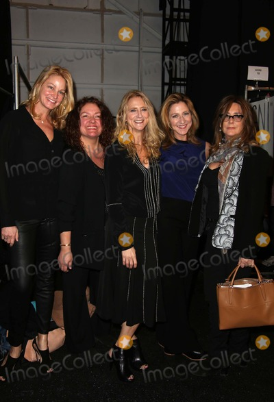 Aida Turturro Photo - Nanette Lepore Fall 2014 Fashion Show Backstage and Front Row Celebrities Mercedes Benz NY Fashion Week Lincoln Center NYC February 12 2014 Photos by Sonia Moskowitz Globe Photos Inc 2014 Aida Turturro Edie Falco Talia Balsam