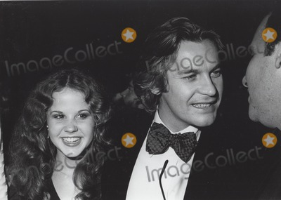 Helmut Berger Photo - Linda Blair with Helmut Berger Supplied by Globe Photos Inc