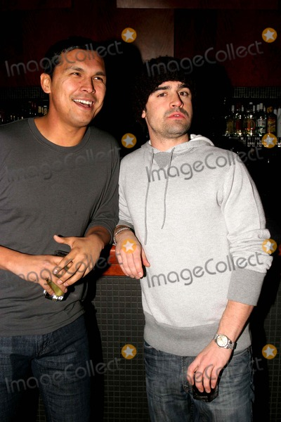 Adam Beach Photo - Exclusive Adam Beach and Jesse Bradford Relax During the Smooth Magazine Party at Blvd the Bowery 01-22-2007 Photos by Rick Mackler Rangefinder-Globe Photos Inc2007 Adam Beach and Jesse Bradford