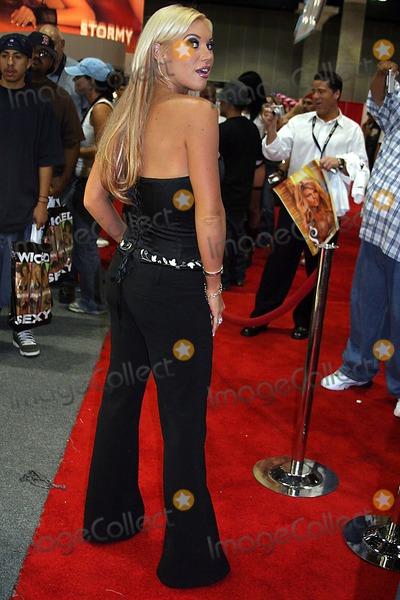 Ashton Moore Photo - Erotica LA 2005 - Day 3 Los Angeles Convention Centre Downtown Los Angeles CA 06-12-2005 Photo ClintonhwallacephotomundoGlobe Photos Inc Ashton Moore of Club Jenna