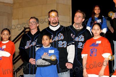 Jason Phillips Photo - New York Mets 2004 Caravan Pep Rally Grand Central Station New York City 1202004 Photo Barry Talesnick  Ipol  Globe Photos Inc 2004 Jason Phillips and AL Leiter
