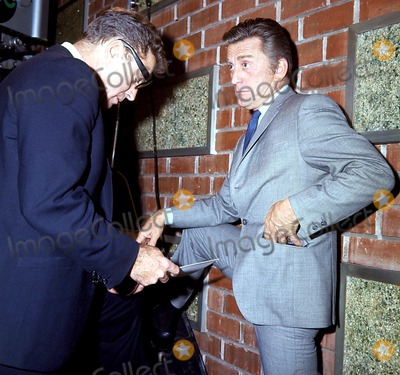 Burt Lancaster Photo - Burt Lancaster and Kirk Douglas Globe Photos Inc
