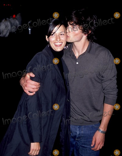 Jamie White Photo - Sd0515 Wb Upfront 2001 Party at the Lighthouse at Chelsea Piers in New York City Tom Welling_girlfriend Jamie White Photo Byjohn BarrettGlobe Photos Inc