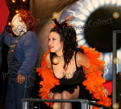Chucky Photo - Jennifer Tilly Rides Seed of Chucky Float at the 31st Annual Village Halloween Parade Up 6th Avenue in New York City 10312004 Photo Byjohn BarrettGlobe Photos Inc