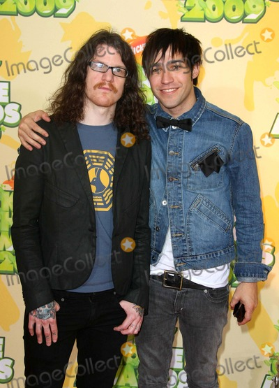 Andy Hurley Photo - Andy Hurley Pete Wentz Fall Out Boy Pop Group the 2009 Kids Choice Awards Arrivals Held at the Pauley Pavilion in Los Angeles California on 3-28-09 Photo by Graham Whitby Boot-allstar-Globe Photos Inc 2009