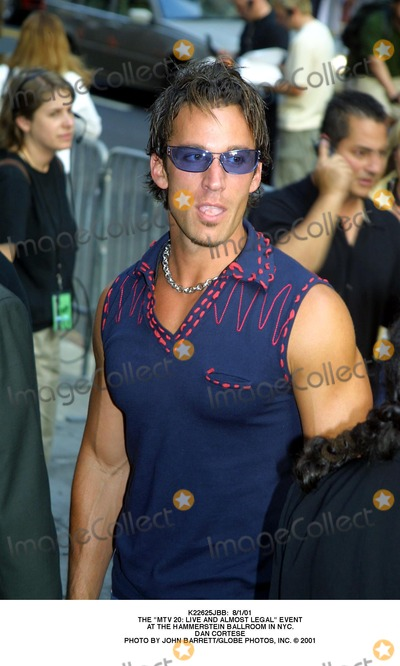 Dan Cortese Photo -  8101 the Mtv 20 Live and Almost Legal Event at the Hammerstein Ballroom in NYC Dan Cortese Photo by John BarrettGlobe Photos Inc