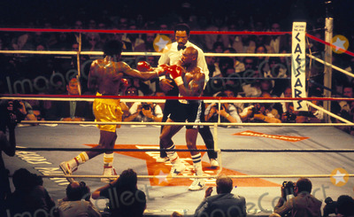 Tommy Hearns Photo - Mavin Hagler Vs Tommy Hearns Photo ByGlobe Photos