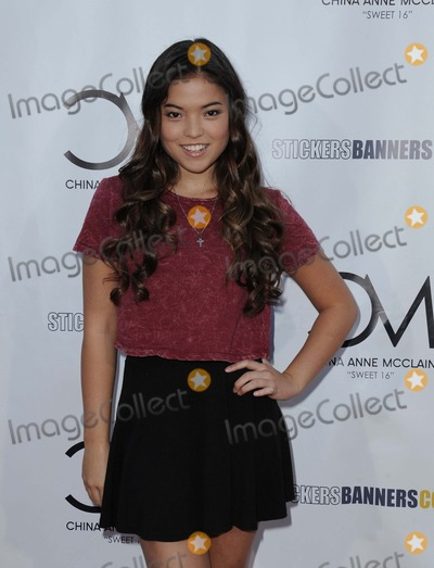 Piper Curda Photo - Piper Curda attending China Anne Mcclains Sweet 16 Birthday Bash Held at the Cbs Radford Studios in Studio City California on September 4 2014 Photo by D Long- Globe Photos Inc