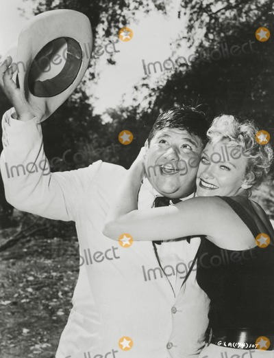 Buddy Hackett Photo - Buddy Hackett and Fay Spain in gods Little Acre SmpGlobe Photos Inc Buddyhackettretro