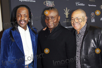 Earth Wind  Fire Photo - Verdine White Philip Bailey Ralph Johnson Attend the Groves 12th Annual Tree Lighting Spectacular on 16th November 2014 at the Grovelos Angelescaliforniausaphoto Tleopold Globephotos
