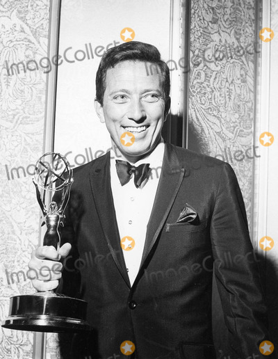 Andy Williams Photo - Andy Williams at the Emmys Awards 1963 Supplied by Globe Photos Inc
