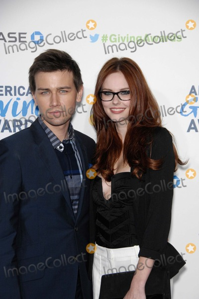 Torrance Coombs Photo - Torrance Coombs and Alyssa Campanella During the 2nd Annual American Giving Awards Held at the Pasadena Civic Auditorium on December 7 2012 in Pasadena California Photo Michael Germana  Superstar Images - Globe Photos