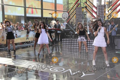 Alle Brooke Photo - Fifth Harmony Ltor All Brookenormani Hamiltondinah Hansonlauren Jaureguicamila Cabello Performing on NBC Today Show7-18-2013 Photo by John BarrettGlobe Photos