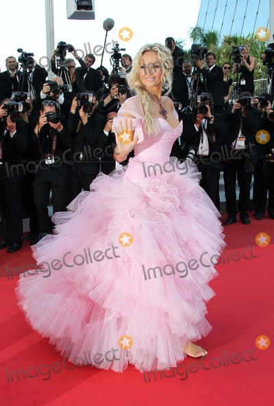 Adriana Karembeu Photo - French Model Adriana Karembeu attends the Premiere of the Beaver at the 64th Cannes International Film Festival at Palais Des Festivals in Cannes France on 17 May 2011 photo Alec Michael