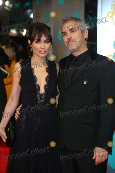 Sheherazade Goldsmith Photo - Alfonso Cuaron and Sheherazade Goldsmith Arrive at the 66th Annual British Academy Film Awards Aka Ee British Academy Film Awards Aka Baftas at Royal Opera House in London Great Britain on 16 February 2014 Photo Alec Michael