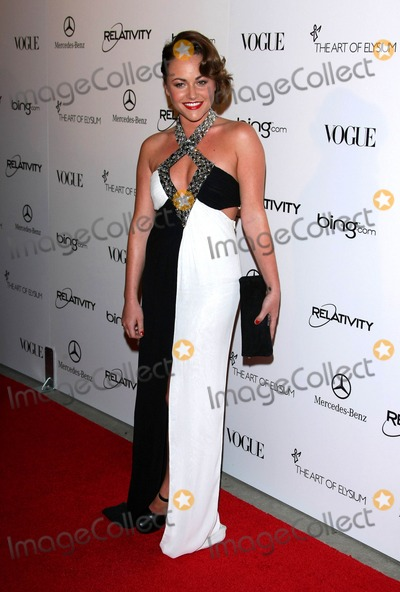 Jamie Winstone Photo - Jamie Winstone Actress attending the 2011 Art of Elysium Heaven Gala Held at the California Science Center in Los Angeles California on 01-15-2011 photo by Graham Whitby Boot-allstar - Globe Photos Inc