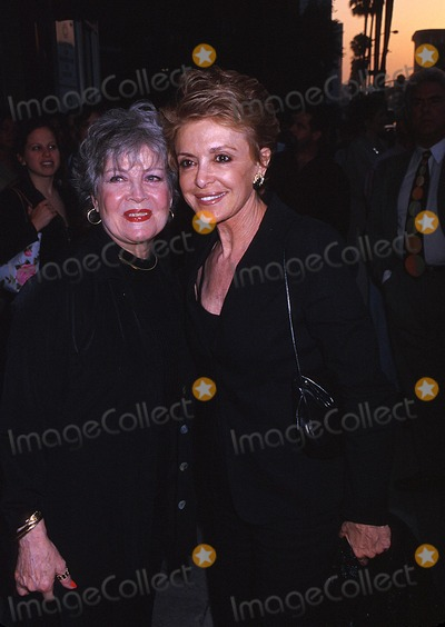 Anna Maria Alberghetti Photo -  Opening Night For the National Touring Company of South Pacific Wilshire Theatre Beverly Hills CA 07092002 Gloria Dehaven and Anna Maria Alberghetti Photo by Ed GellerGlobe Photosinc