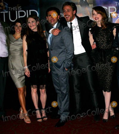 John Requa Photo - John Requa Marisa Tomei Julianne Moore Steve Carell Ryan Gosling Emma Stone and Glenn Ficarra Arrive For the Premiere of Crazy Stupid Love at the Ziegfeld Theater in New York on July 19 2011 Photo by Sharon NeetlesGlobe Photos Inc