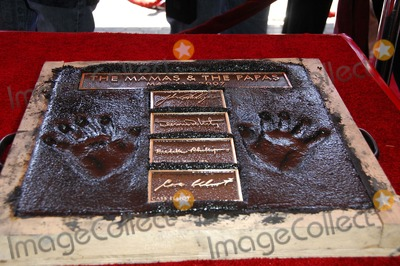 Al Kooper Photo - Michelle Phillips Handprints During a Ceremony Inducting Otis Redding the Mamas  the Papas and Al Kooper Into Hollywoods Rockwalk on May 11 2007 in Los Angeles Photo by Michael Germana-Globe Photosinc