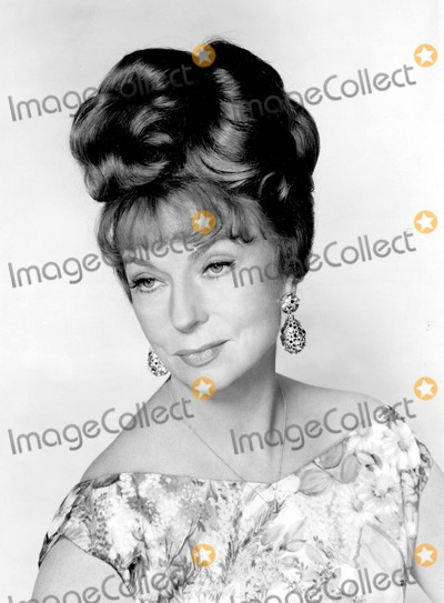 Agnes Moorehead Photo - Agnes Moorehead Photo by Bill Kobrin-Globe Photos Inc