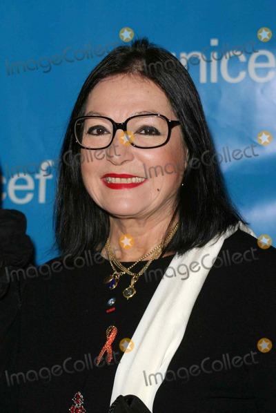 Nana Mouskouri Photo - Nana Mouskouri - Unicef Godwill Gala 50 Years of Celebrity Advocacy - Beverly Hilton Hotel Beverly Hills CA - 12032003 - Photo by Nina PrommerGlobe Photos Inc2003