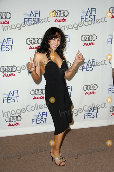 Jackeline Olivier Photo - Jackeline Olivier During the Afi Fest 2006 Presentation of Venus Held on the Arclight Parking Structure Rooftop on November 9 2006 in Los Angeles Photo by Michael Germana - Globe Photos Inc